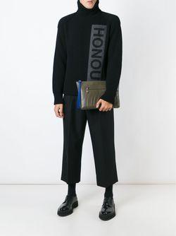 Клатч На Молнии Alexander McQueen                                                                                                              зелёный цвет