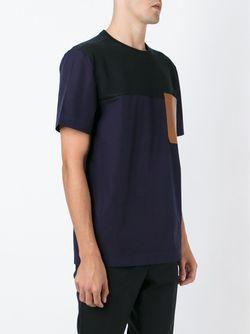 Футболка Колор-Блок TIM COPPENS                                                                                                              черный цвет