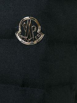 Дутая Куртка На Молнии Moncler Gamme Rouge                                                                                                              чёрный цвет