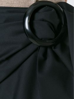 Коротка Юбка С Крупной Пряжкой J.W. Anderson                                                                                                              чёрный цвет