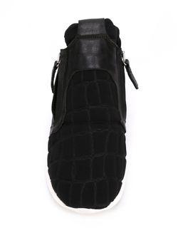 Кроссовки С Тисненой Панелью Cinzia Araia                                                                                                              черный цвет