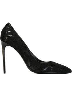 Туфли На Шпильке Paris Saint Laurent                                                                                                              чёрный цвет