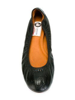 Балетки Lanvin                                                                                                              чёрный цвет