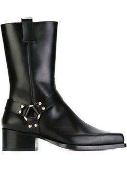 Ботинки С Квадратным Носком Dsquared2                                                                                                              черный цвет