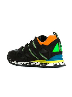 Кроссовки С Панельным Дизайном Dsquared2                                                                                                              чёрный цвет