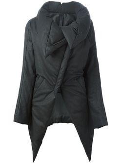 Дутая Куртка С Объемным Воротником Gareth Pugh                                                                                                              серый цвет