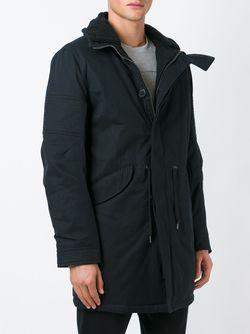 Parka Coat Helmut Lang                                                                                                              черный цвет