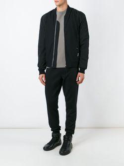 Куртка-Бомбер С Панельным Дизайном Silent Damir Doma                                                                                                              черный цвет
