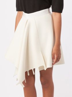 Front Pleat Skirt Maison Rabih Kayrouz                                                                                                              белый цвет