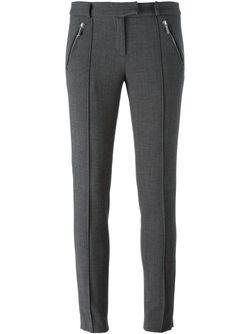 Skinny Tailored Trousers Michael Michael Kors                                                                                                              серый цвет