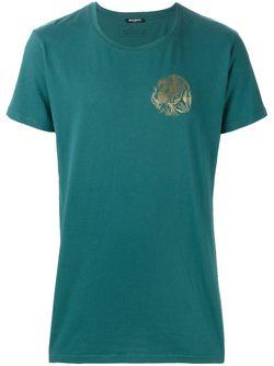 Футболка С Круглым Вырезом Balmain                                                                                                              зелёный цвет