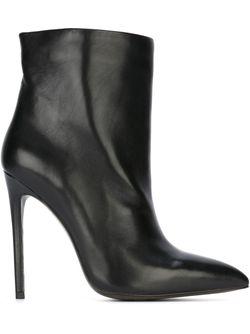 Ботинки По Щиколотку GIANNI RENZI                                                                                                              черный цвет