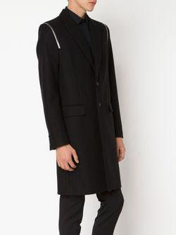 Zip Detail Overcoat Givenchy                                                                                                              черный цвет