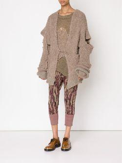 Cropped Knit Leggings Vivienne Westwood                                                                                                              розовый цвет