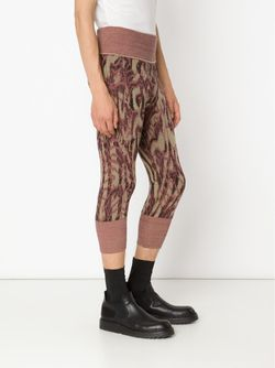 Cropped Knit Leggings Vivienne Westwood                                                                                                              розовый цвет