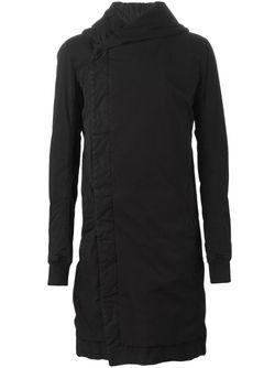 Пальто С Капюшоном RICK OWENS DRKSHDW                                                                                                              чёрный цвет
