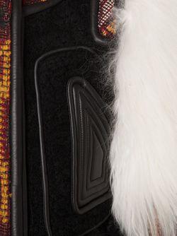 Contrasted Panel Jacket Chloe                                                                                                              черный цвет