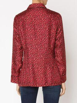 Блузка С Принтом Piamita                                                                                                              красный цвет