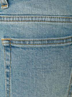 Выбеленные Джинсы Saint Laurent                                                                                                              синий цвет
