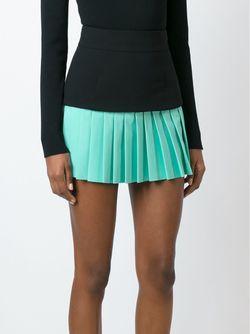 Pleated Mini Skirt Fausto Puglisi                                                                                                              чёрный цвет