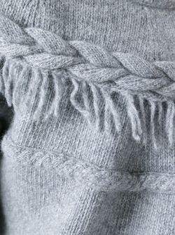 Кардиган С Бахромой Agnona                                                                                                              серый цвет