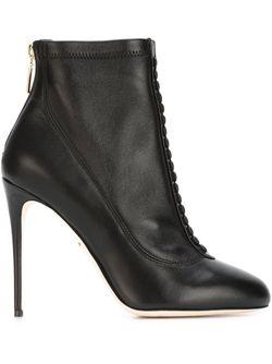 Ботильоны На Шпильке Dolce & Gabbana                                                                                                              черный цвет