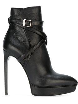 Ботинки Janis 105 Saint Laurent                                                                                                              чёрный цвет