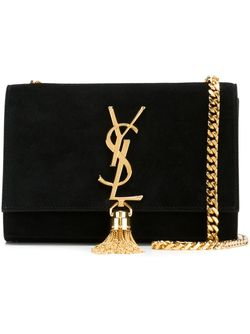 Маленькая Сумка-Сэтчел Monogram Saint Laurent                                                                                                              чёрный цвет