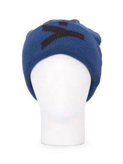 Шапка-Бини С Логотипом Y-3                                                                                                              синий цвет