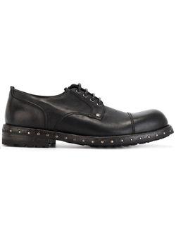 Туфли Дерби С Заклепками Dolce & Gabbana                                                                                                              чёрный цвет