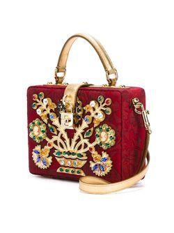 Декорированная Сумка Через Плечо Dolce & Gabbana                                                                                                              красный цвет