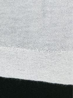 Свитер С Круглым Вырезом Helmut Lang                                                                                                              белый цвет