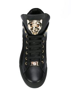 On Hi-Top Sneakers Philipp Plein                                                                                                              черный цвет