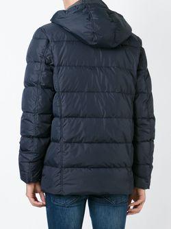 Дутая Куртка Duvetica                                                                                                              синий цвет