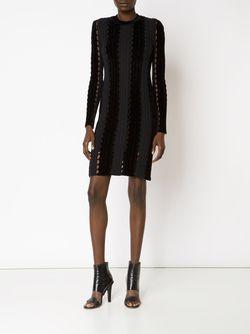 Облегающее Платье Свободной Вязки Alexander Wang                                                                                                              чёрный цвет
