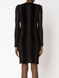 Облегающее Платье Свободной Вязки Alexander Wang                                                                                                              черный цвет