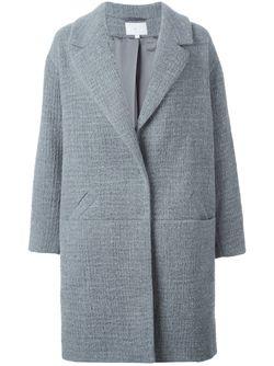 Однобортное Пальто Lala Berlin                                                                                                              серый цвет