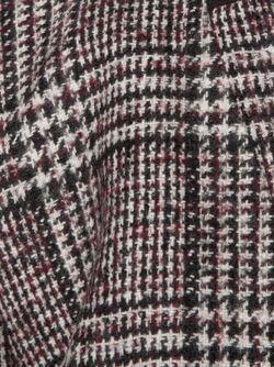 Блейзер В Клетку С Байкерской Вставкой Veronica Beard                                                                                                              серый цвет