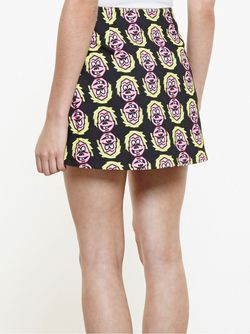 Printed Mini Skirt ASHLEY WILLIAMS                                                                                                              чёрный цвет