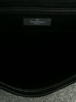 Сумка-Тоут С Камуфляжным Принтом Valentino Garavani                                                                                                              серый цвет