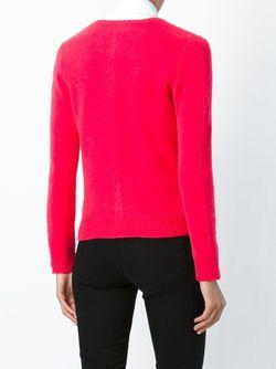 Кардиган С Круглым Вырезом Polo Ralph Lauren                                                                                                              розовый цвет