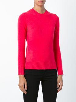 Свитер С Круглым Вырезом Polo Ralph Lauren                                                                                                              розовый цвет
