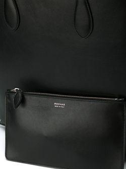 Прямоугольная Сумка-Тоут Rochas                                                                                                              чёрный цвет