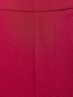 Укороченные Брюки Кроя Слим P.A.R.O.S.H.                                                                                                              красный цвет