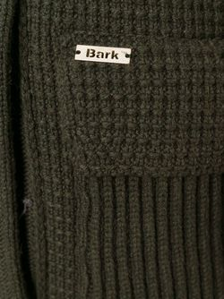 Трикотажный Дафлкот Bark                                                                                                              зелёный цвет