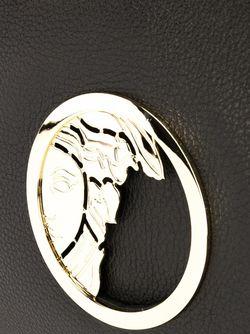 Сумка-Тоут С Логотипом Versace Collection                                                                                                              черный цвет