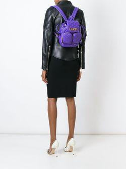 Рюкзак Со Стеганым Эффектом Moschino                                                                                                              розовый цвет
