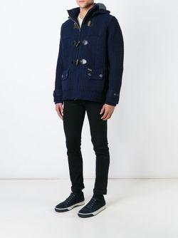 Knitted Duffle Coat Bark                                                                                                              None цвет