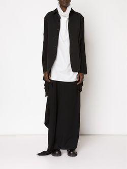 Пиджак С Асимметричными Клапанами Сбоку Yohji Yamamoto                                                                                                              черный цвет