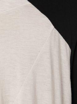 Длинная Футболка С Панельным Дизайном JULIUS                                                                                                              черный цвет